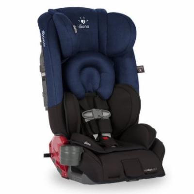 Diono Radian rXT Convertible Car Seat and Booster, Black Cobalt