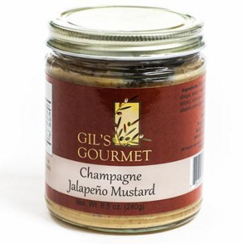 Champagne Jalapeno Mustard by Gil's Gourmet