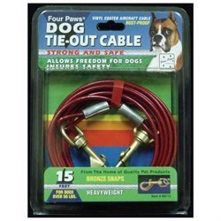 Four Paws Pet Products DFP84715 Heavy Weight Tie Out Cable