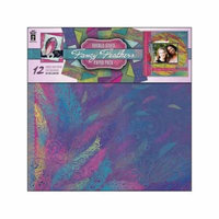 HOTP Paper Pack 12x12 Fancy Feathers