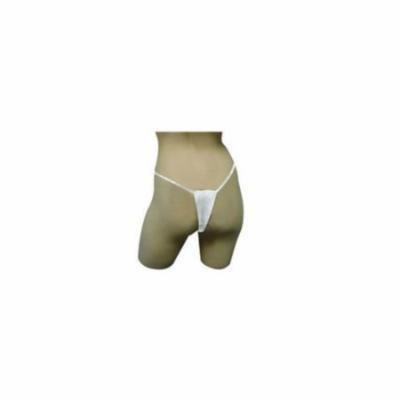 Dukal Reflections; Spa Undergarments, Thong Panty, White, Non-Sterile, 1/bg 25bg/pk 10pk/cs