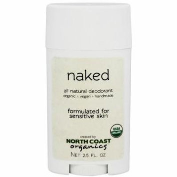 North Coast Organics - All Natural Deodorant Naked - 2.5 oz.