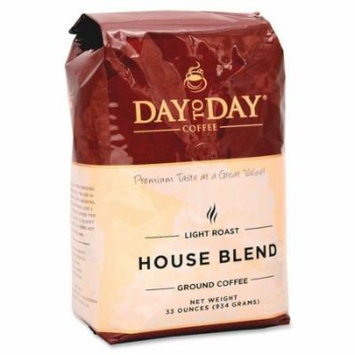 Papanicholas Coffee, Ground, 33oz., Day To Day House Blend Ground 33100