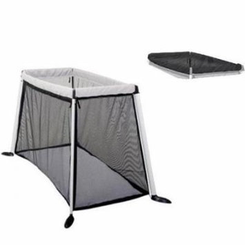 Phil & Teds Traveller V3 Cot/Crib With Sun Cover - Silver