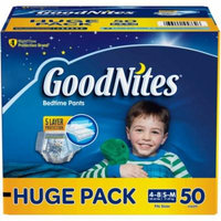 GoodNites Bedtime Pants for Boys, (Choose Your Size)