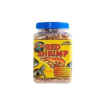 Zoo Med Red Sun Dried Shrimp - Large: 2.5 oz