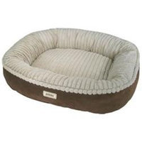 Poochplanet Canine Cocoon Premium Bolstered Pet Bed - 28 X 24 in.