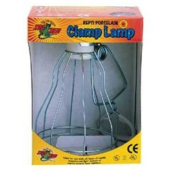 Zoo Med Laboratories SZMLF11 Clamp Lamp With Porcelain Socket