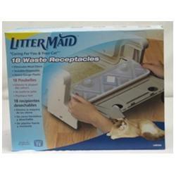 LitterMaid Waste Receptacles Value Pack - 18