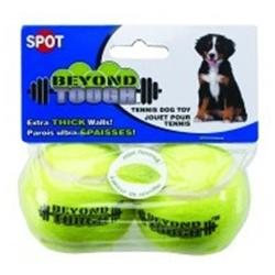 Ethical Dog 5625 Yellow Beyond Tgh Sml Tennis Ball 2Pk