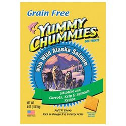 Arctic Paws 100 Yummy Chummies Salmon And Vegetable- Grain Free