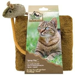 Our Pets OURPETS Play-N-Squeak Spring Fling Cat Toy