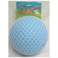 Jolly Pets Bounce-N-Play Ball 8 Blueberry Dog Toy