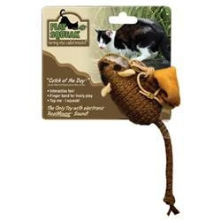 Our Pets Play-N-Squeak Catch of the Day Cat Toy