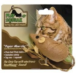 Ourpet S Company Cat Play-n-squeak Papier Mew-che