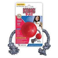 Kong Company - Kong Ball With Rope Small - KB21