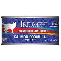 Triumph Salmon Formula Canned Cat Food
