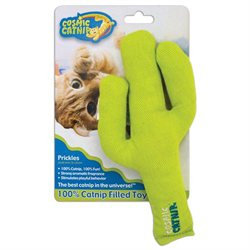 Ourpet's Company Ourpets Company - Cosmic 100 percent Catnip Filled Toy- Cactus