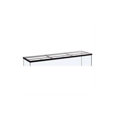 Perfecto Manufacturing Hinged Rectangle Aquarium Canopy in Glass