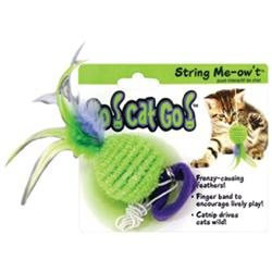 Our Pets Go Cat Go String Me-ow T