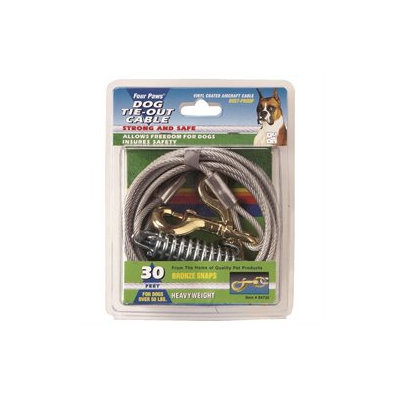 Four Paws Pet Products DFP84730 Heavy Weight Tie Out Cable