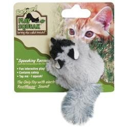 Ourpet S Company Ourpets Company CT-10496 Play-N-Squeak Backyard Raccoon