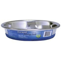 Ourpet S Company Ourpets Company SS08CD Stainless Steel Durapet Cat Dish 8 Ounce