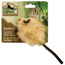 Ourpet S Company Cat Play-N-Squeak Woolymouse