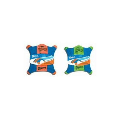 Canine Hardware 11200 Chuckit! Flying Squirrel! Blue/Orn Sm