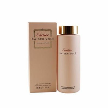 Baiser Vole Perfumed Shower Gel 6.75 Oz / 200 Ml for Women by Cartier