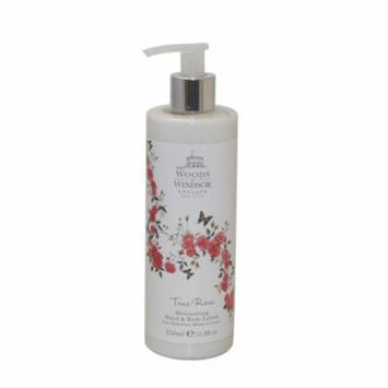 True Rose Moisturizing Hand & Body Lotion 11.8 Oz / 350 Ml for Women by Woods Of Windsor