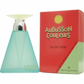 Aubusson Couleurs Eau De Toilette Spray 3.4 Oz / 100 Ml for Women by Aubusson
