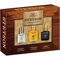 Stetson Collection Caliber/Original/Black Gift Set, 3 pc