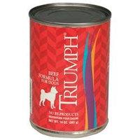 Triumph Pet Industries Triumph Canned Dog Food Case 13.2oz Beef