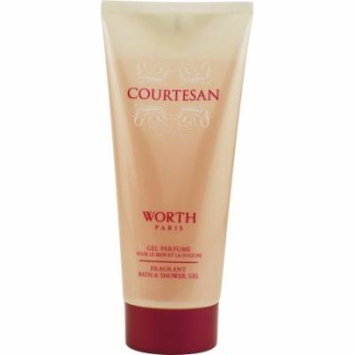 Courtesan Fragrant Bath & Shower Gel 6.7 Oz / 200 Ml for Women by Worth