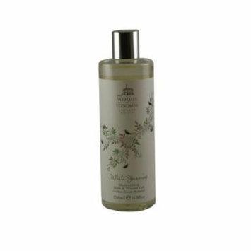 White Jasmine Moisturizing Bath & Shower Gel 11.8 Oz / 350 Ml for Women by Woods Of Windsor
