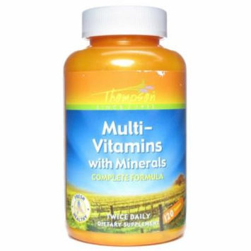 Thompson Multi-Vitamin with Minerals - 120 Tablets
