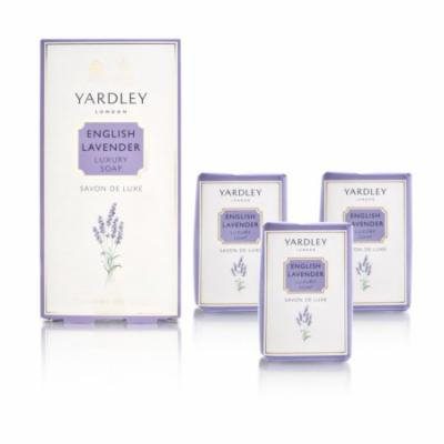 Yardley of London English Lavender 3 x 3.5 oz Luxury Soap
