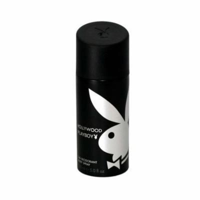 Playboy Hollywood Deodorant Body Spray 5.0 Oz / 150 Ml for Men by Playboy Fragrances