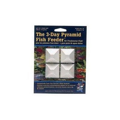 .Aquarium Pharmaceuticals Pyramid Feeder Fish Food (4 piece)