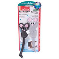 Petstages Catnip Felt Mini Mice Cat Toy