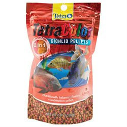 United Pet Group Tetra - Tetracolor Cichlid Pellets Large-2.82 Oz - 77267
