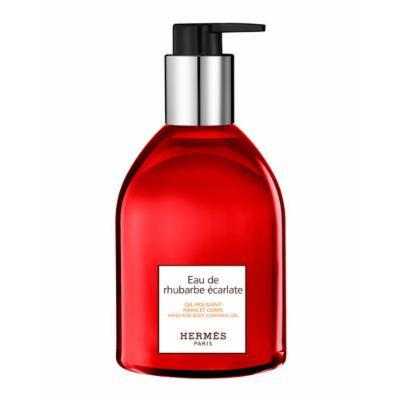 HermÈS Eau de rhubarbe &carlate Hand & Body Cleansing Gel, 10 oz.