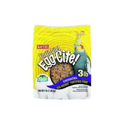 Kaytee Products Inc Kaytee Forti-Diet Egg-Cite! Cockatiel: 5 lbs