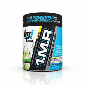BPI Sports 1MR One More Rep Ultra Concentrated Energy Supplement, Apple Pear Supplement, 8.5 Ounce