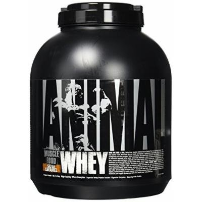 Universal Nutrition Animal Whey Isolate Loaded Whey Protein Powder, Salted Caramel, 4 Pound