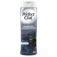 8 In 1 Pet Products Eight In One Pearl Shampoo Conditioner Black 16 Ounces - I640