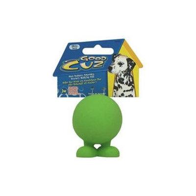 JW Pet Good Cuz Rubber Dog Toy Medium