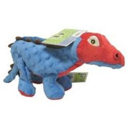 Sherpa Pet Group goDog Dinos Spike the Stegosaurus Dog Toy Large