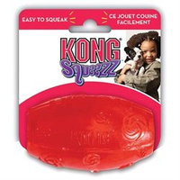 Kong Company - Squeezz Football- Assorted Medium - PSF2